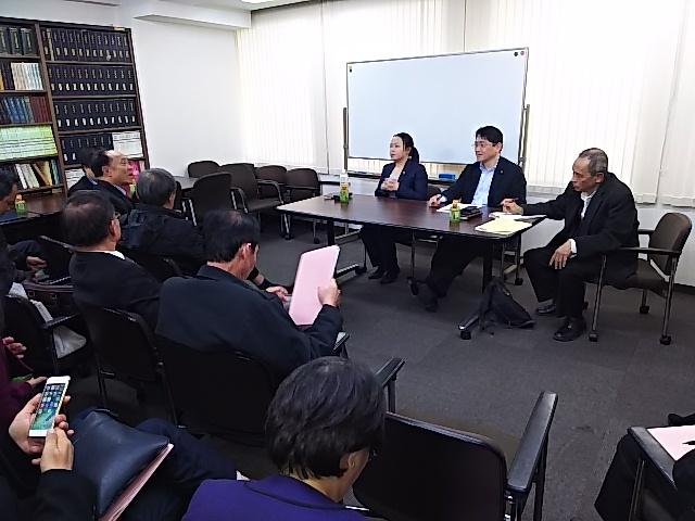 ベトナム弁護士会の方々が当事務所に来所されました。